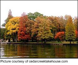 Cedar Creek Lake Fall